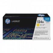 HP 124A (Q6002A) Gul Toner (Original HP)